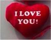 PLIŠ SRCE I LOVE YOU  9CM