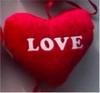 PLIŠ SRCE  LOVE  9 CM